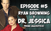 Live Now! Episode #5 – Ryan Browning & Dr. Jessica of CalExotics!